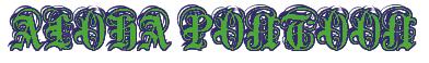 "Rendering ""ALOHA PONTOON"" using Anglican"