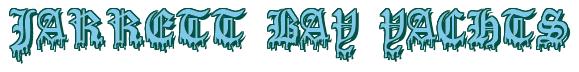 "Rendering ""JARRETT BAY YACHTS"" using Dracula Blood"