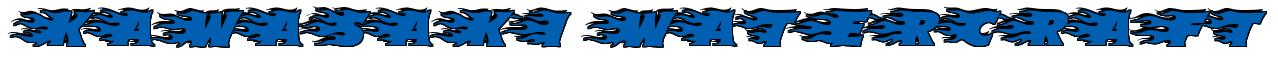 """Rendering """"KAWASAKI WATERCRAFT"""" using Blazed"""