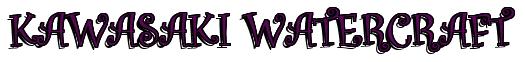 "Rendering ""KAWASAKI WATERCRAFT"" using Curlz"