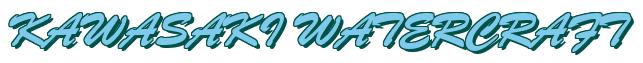 "Rendering ""KAWASAKI WATERCRAFT"" using Brush Script"