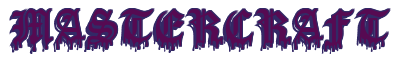 """Rendering """"MASTERCRAFT"""" using Dracula Blood"""