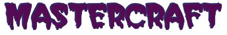 "Rendering ""MASTERCRAFT"" using Creeper"