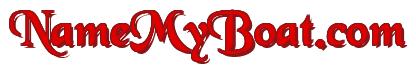 "Rendering ""NameMyBoat.com"" using Black Chancery"