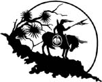 sacred horse image decal