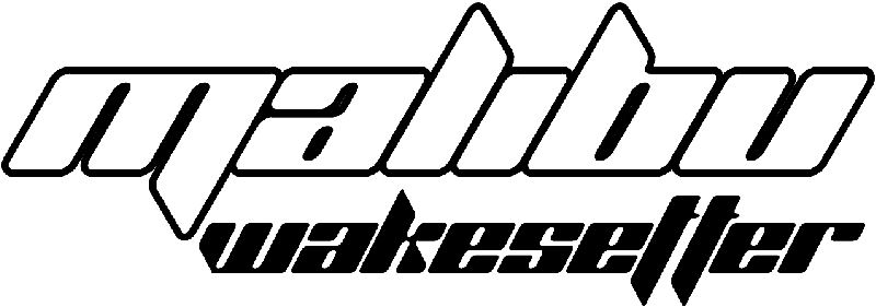 Malibu Wakesetter Decal