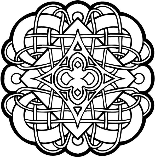 free coloring pages celtic designs | SignSpecialist.com – General Decals - Celtic Symbol vinyl ...