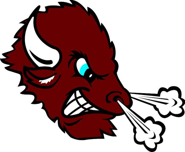 Bison mascot clipart - photo#21