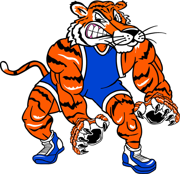 tiger pride clip art - photo #12