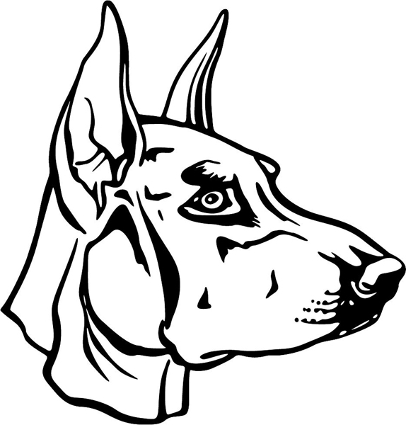 Free Coloring Pages Of How To Draw A Doberman Doberman Coloring Pages