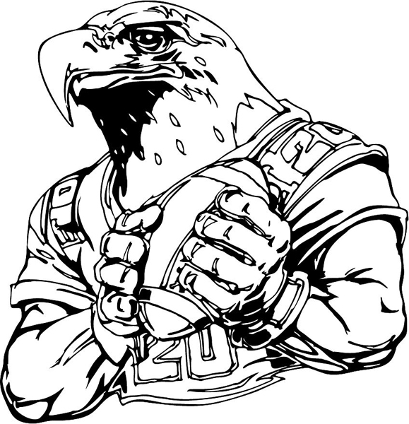 eagle cartoon coloring pages - photo #42