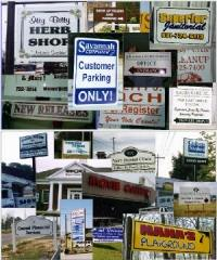 custom signs, ada signs, banners