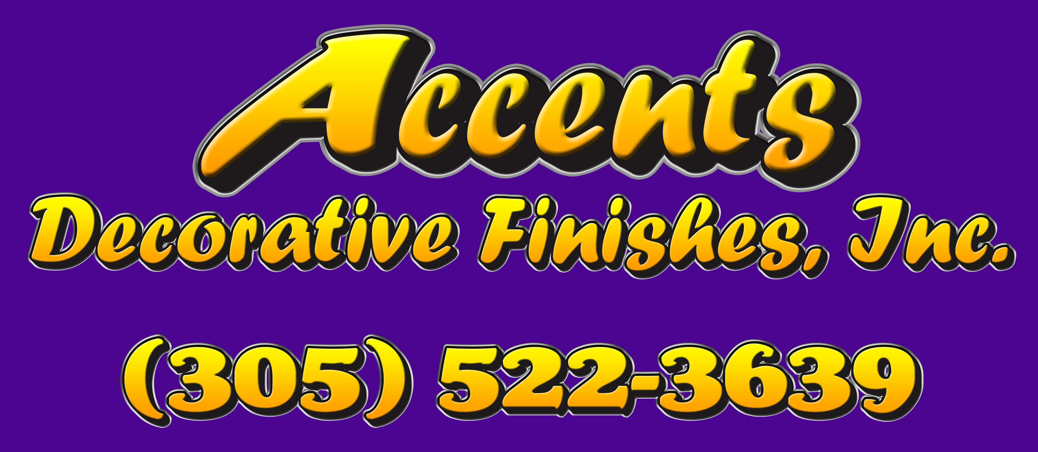 Journal Of Sign Designs And Proofs Accents Decorative