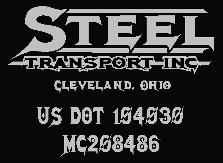 desired fonts and text i would like to have the 147megadeath as per your exampleit is going on a black peterbiltthe sign should read steel transport