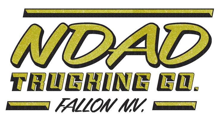 ndad truck lettering