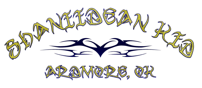 shaniidean kid lettering
