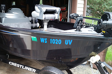 Custom Boat Registration Amp Numbers Sign Specialist