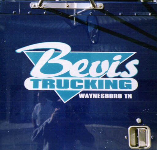 Truck Lettering Picture